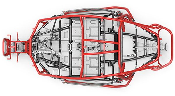 Chassis SSV Hypersport Segway Villain