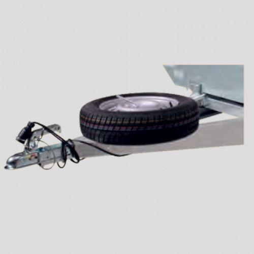Accessoire support de roue de secours