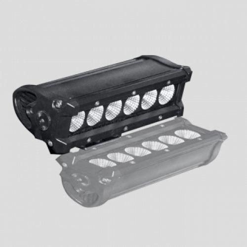 Accessoire rampe leds 30w 23x7,5x7,5cm